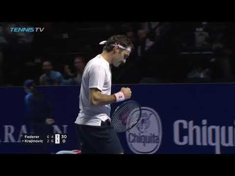 Roger Federer Magic vs Krajinovic | Basel 2018