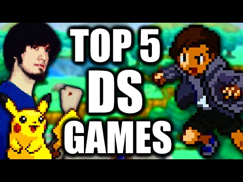 Top 5 Nintendo DS Games - Jimmy Whetzel Feat. PeanutButterGamer