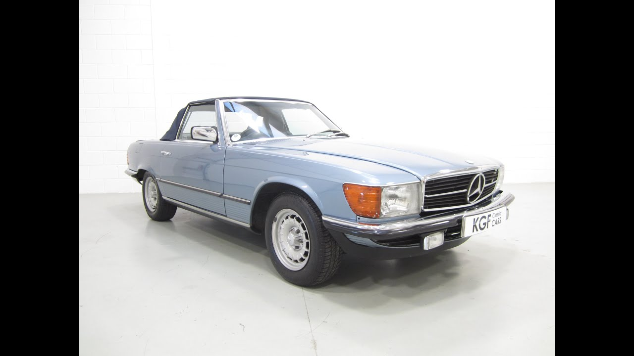 A luxurious low mileage example mercedes benz 280sl in for Mercedes benz service charges