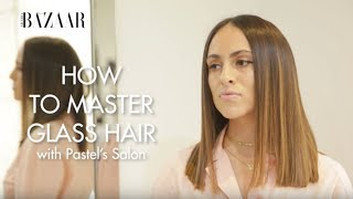 Baixar How To Achieve The Glass Hair Look | Bazaar Beauty | Harper's Bazaar Arabia
