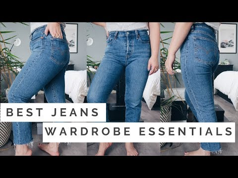 BEST JEANS TRY ON || Levi's, Citizens Of Humanity & Topshop