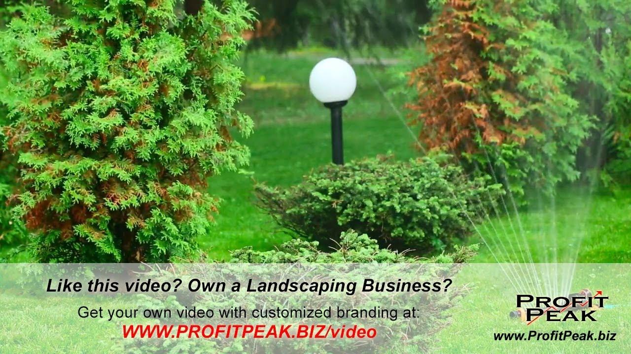 Best Idea To Market A Landscaping Business Eau Claire Video Marketing Internet Commercials