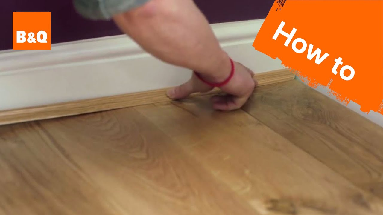 How to lay flooring part 5 finishing touches