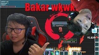 Prank Bakar World ILEDAS wakaka-Growtopia Indonesia