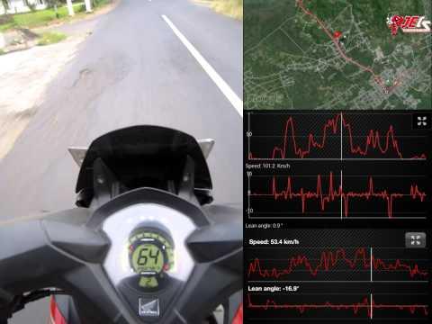 Test Speed & Lean Angle CS1 JECSCOM