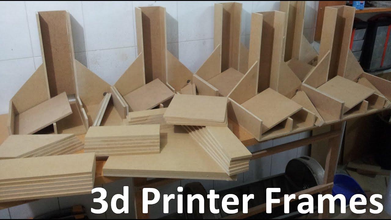 Impresora 3D de madera - YouTube