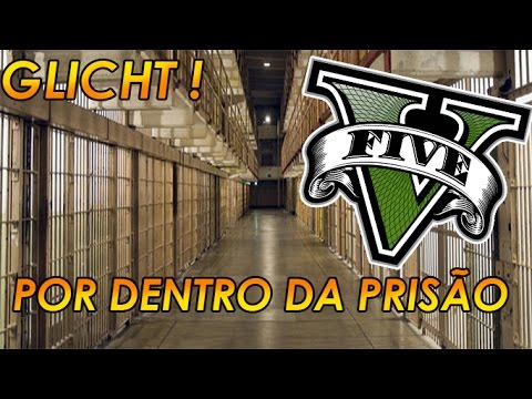 GTA V - INTERIOR DA PRISAO ONLINE !! CELAS OU QUARTOS?? !! INSIDE THE PRISON ONLINE !