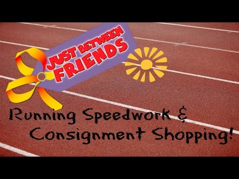 Track Workout, Consignment Sales & My Food Today!  Vegan Mom!