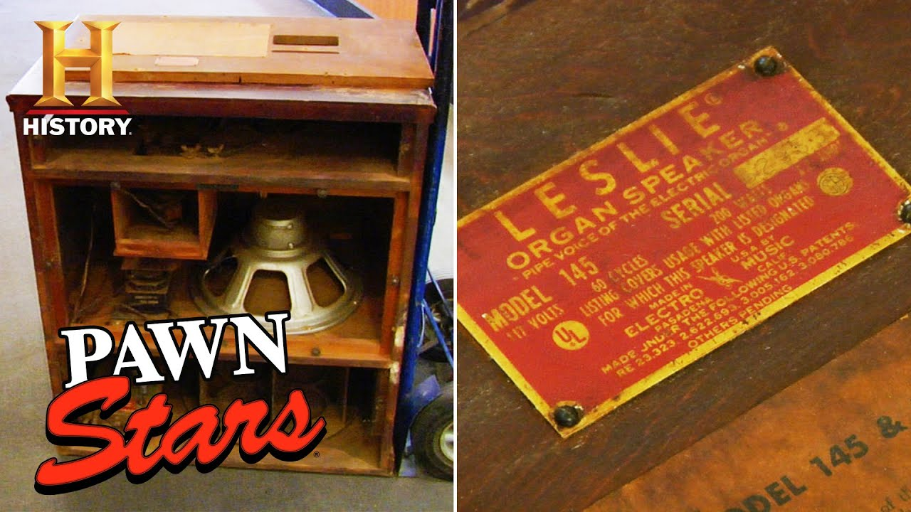 Pawn Stars: The Old Man's RISKY DEAL for an Antique Organ Speaker (Season 5) | History