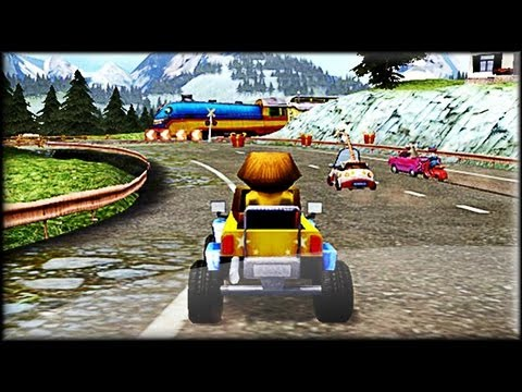 Madagascar 3 Race Across Europe Game preview gameplay YouTube