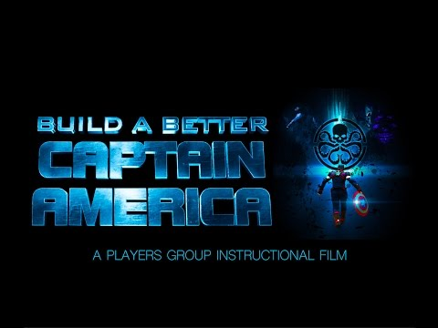 How to BUILD A BETTER CAPTAIN AMERICA VIDEO - DIY Costume/ Shield / Accessories / History