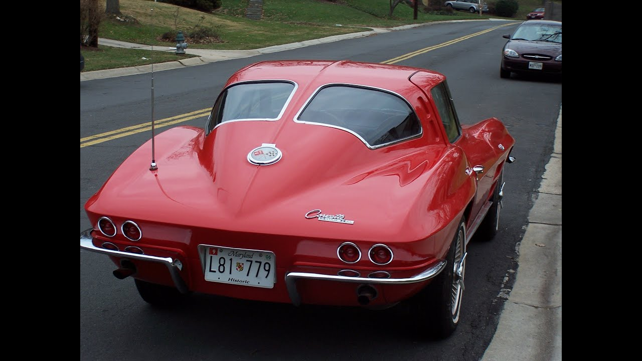 1963 Split Window Corvette At Sully Antique Car Show 2012