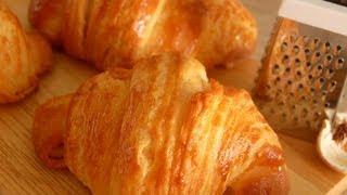 My first croissants -在家做可頌!