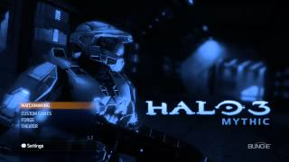 Halo 3 Mythic Menu - 1080p HD