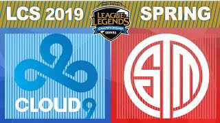 C9 vs TSM, Game 5 - LCS 2019 Spring Split Playoffs Semifinals - Cloud9 vs Team SoloMid G5
