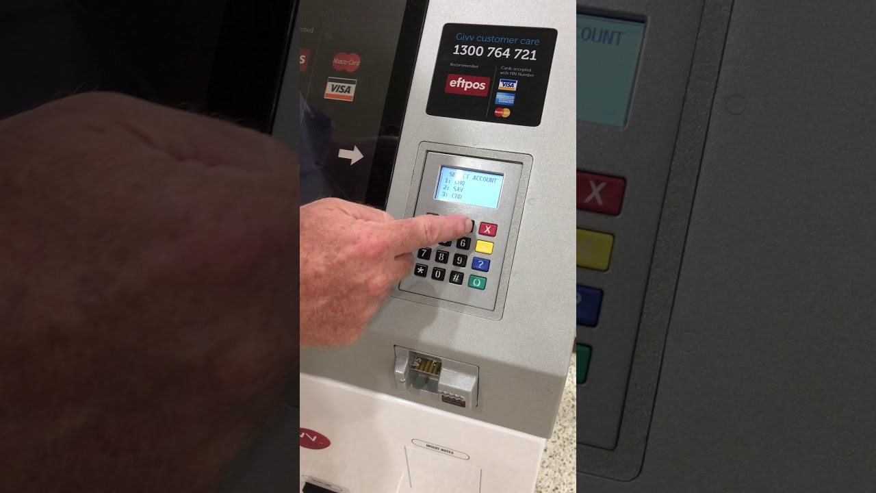 Givv Kiosk How To Scan To Activate A Gift Card Youtube
