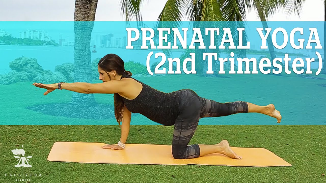 PRENATAL YOGA 2nd TRIMESTER