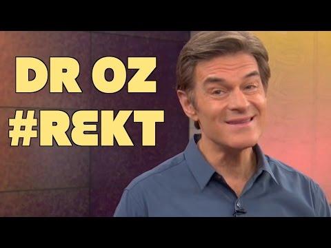 Dr. Oz REKT By Vegan Doctor On Twitter