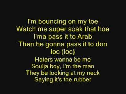 Crank That Soulja Boy with lyrics
