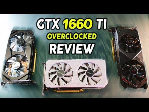 GTX 1660 Ti Vs. GTX 1070 - Full OVERCLOCKED Review