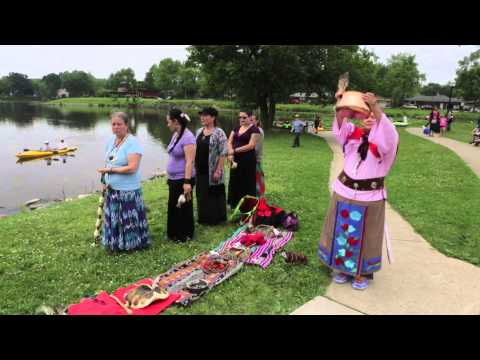 Potawatomi Water Blessing