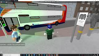 Buses at Manchester Piccadilly part 2 - 50 SUB SPECIAL - Buses UK Roblox