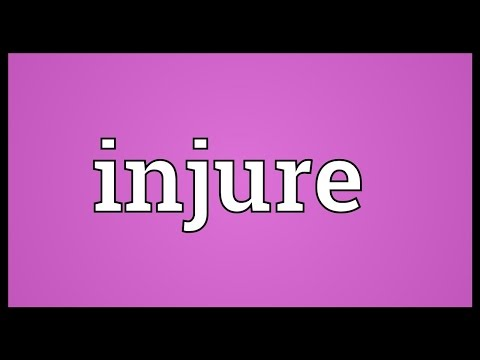 Header of injure