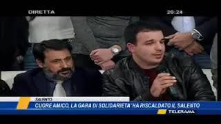 CUORE AMICOLA GARA DI SOLIDARIETA' HA RISCALDATO IL SALENTO