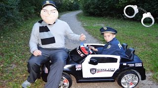 Little Heroes BAD COP a YouTube Silly Kids Video with Officer Ryan