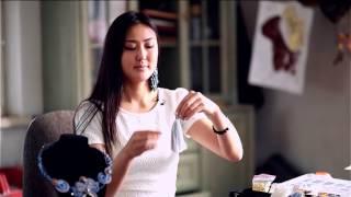 Телеканал Тан программа 'Твоё утро' / Модная рубрика/ Ольга Боровская/ Украшения своими руками