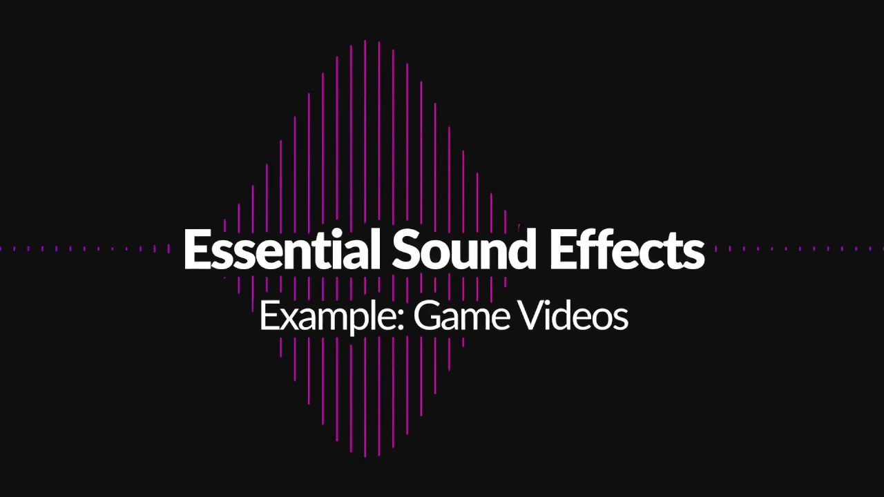 Example Game Video made with Essential Sound Effects for Animation Composer