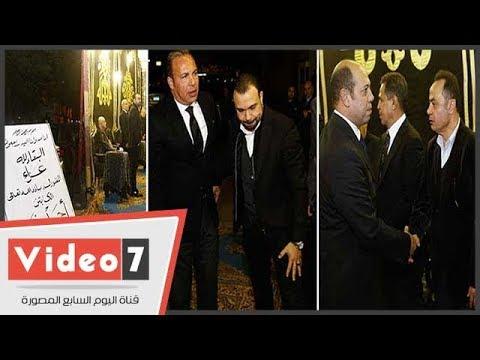 نجوم الرياضة المصرية فى عزاء نجم الزمالك الأسبق أحمد رفعت  - 18:22-2017 / 12 / 16