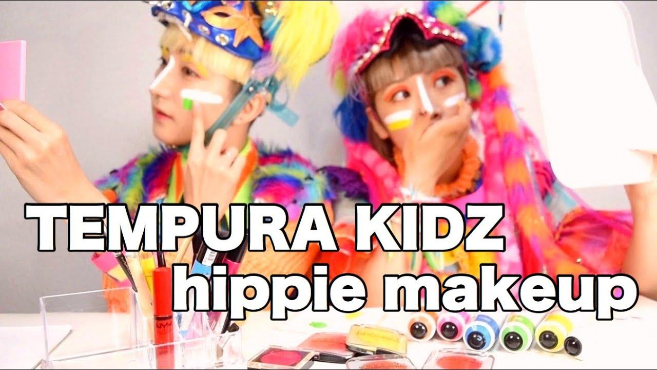 【民族】TEMPURA KIDZ hippie makeup