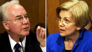 Tom Price Is SO OFFENDED That Elizabeth Warren Would Bring Up His Blatant Insider Trading