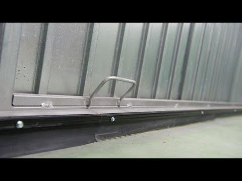 Burlete de caucho en puerta de garaje bricomania youtube - Puertas para cocheras ...