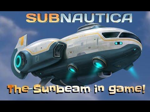 THE SUNBEAM! | Subnautica news #31 /-Subnautica gameplay