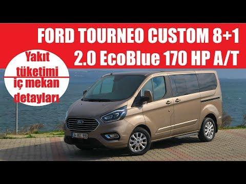 Ford Tourneo Custom 2 0 Dizel 170 Hp Otomatik Test Surusu Youtube
