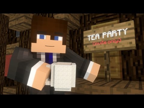 Christmas Tea Party (Minecraft Animation)