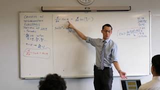 Intro to Trigonometric Calculus (4 of 5: Derivative of cos x)