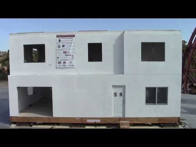 Stanford researchers develop earthquake-resistant house