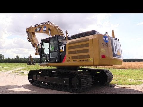 Delivery Of The First Cat 336F XE Hybrid Excavator In Denmark
