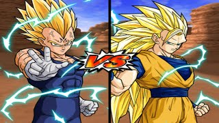 [TAS] DBZ BT3 Majin Vegeta Vs. Goku (End) (Enhanced Red Potara) (Request Match)