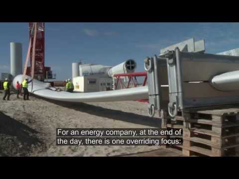 Envision Energy GC-1 Two-bladed Offshore Turbine Prototype Installation