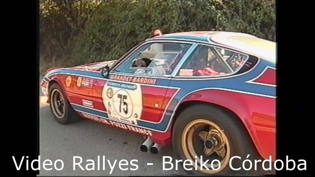 Classic Sports Racing Cars Tour De Espana Ferrari Porsche Alfa Romeo