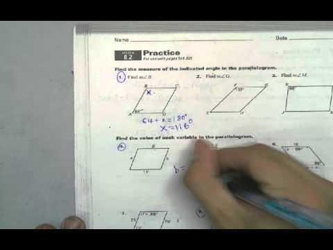 8.2 GEO Practice WorkBook Help - YouTube