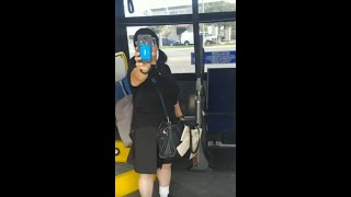 #BusStopBetty! Crazy White Lady On Bus Calls Black Man Predator