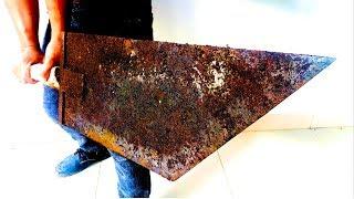 Restoration big buster sword - Restore old rusty buster sword