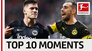 Top 10 Moments October 2018 - Alcacer Show, Beer & Bratwurst and Jovic
