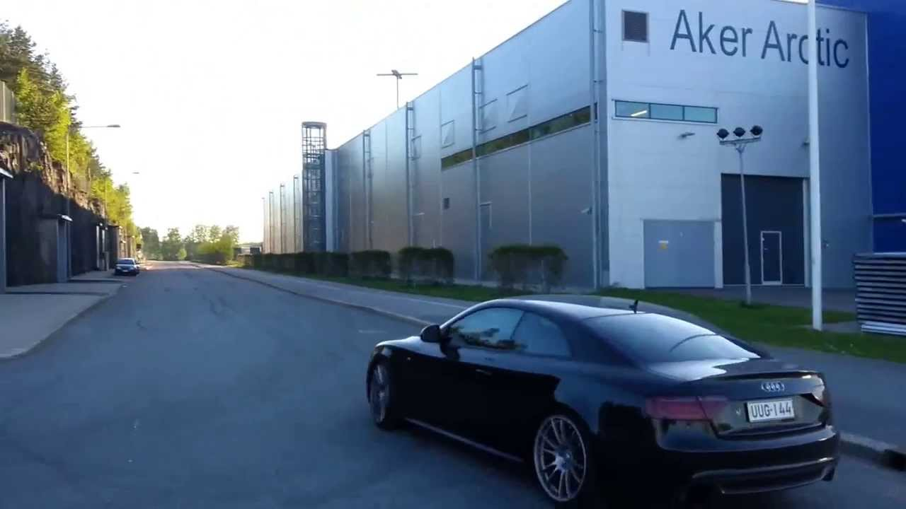 audi a5 3 0 tdi quattro exhaust note youtube. Black Bedroom Furniture Sets. Home Design Ideas
