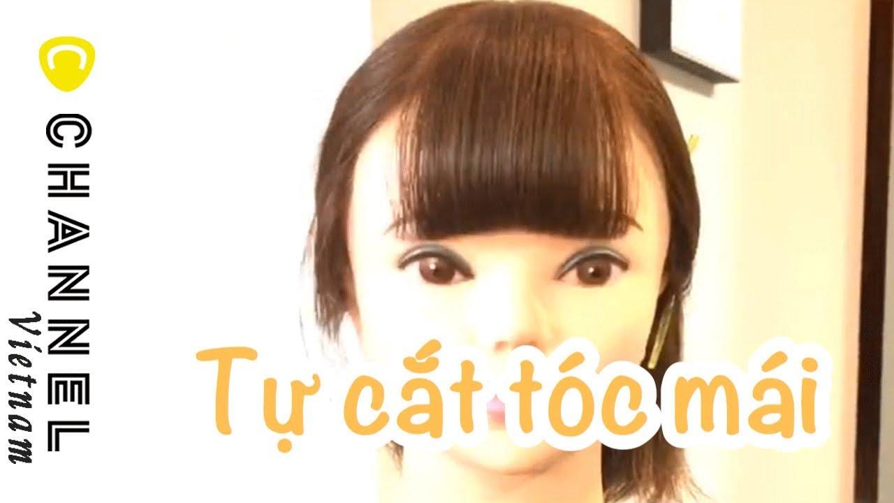 [Cắt tóc trẻ em] Cách hướng dẫn cắt mái tương đối dày